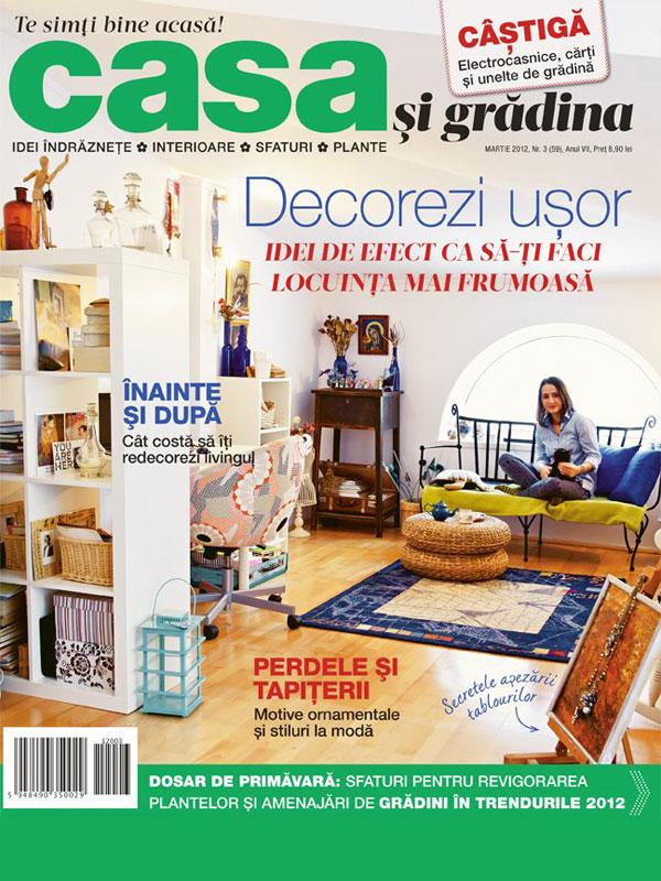 casa si gradina // cover // march 2012