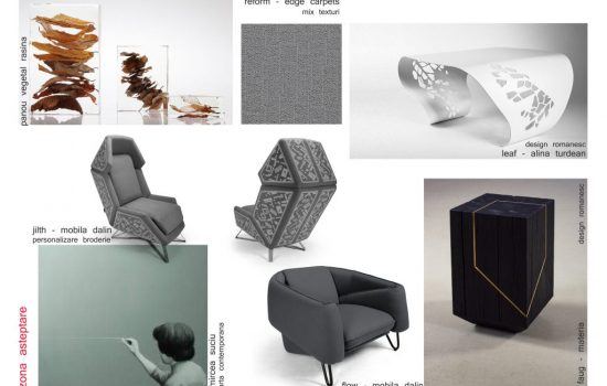 Mood board propsal for offeice space_collab Poteca Studio