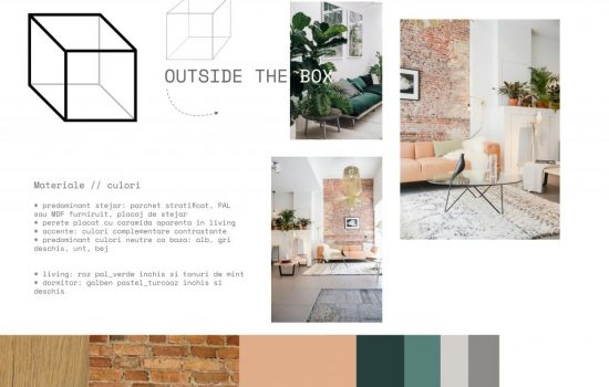 Moodboard propsal for living room