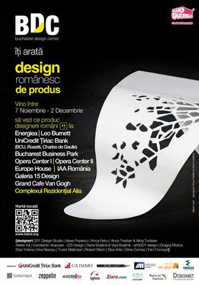 Bucharest Design Center launch 2013