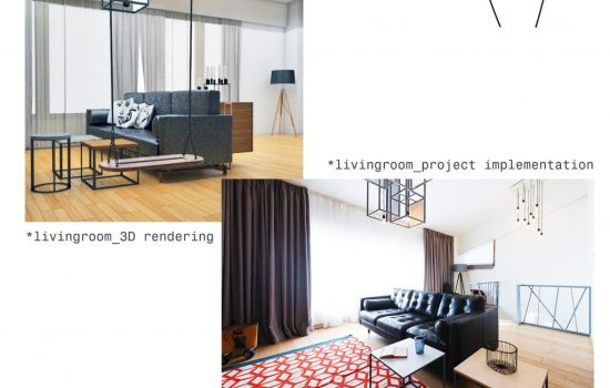 Duplex D_living room
