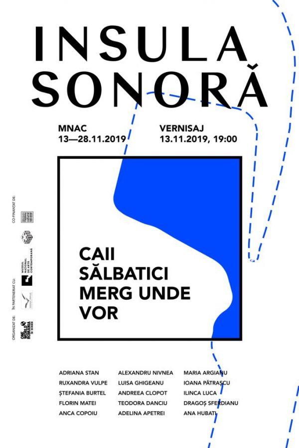 INSULA-SONORA - graphic design Iulia Țurcanu